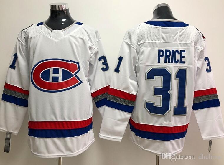 Acheter Nouveau Chandail De Hockey 31 Des Canadiens De Montreal Carey Price 100 Classic 2018 Nouvelle Marque De Chandails De Hockey Blanc Couleur Taille M Xxxl De 18 83 Du Dhchina Dhgate Com