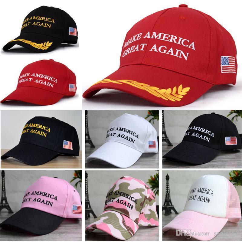 Amerika Büyük Yine Şapka için Unisex Kadın Erkek Büyük Çocuk Beyzbol Şapka Cumhuriyetçi Mesh Snapbacks Basketbol Topu Şapka Cap FB-H03 olun