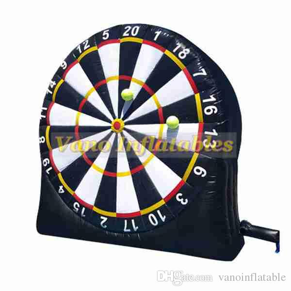 Foot Darts for Sale Inflatable 3m 4m 5m 6m Commercial Inflatable Football Darts for Sale Board Game with Blower Free Shipping