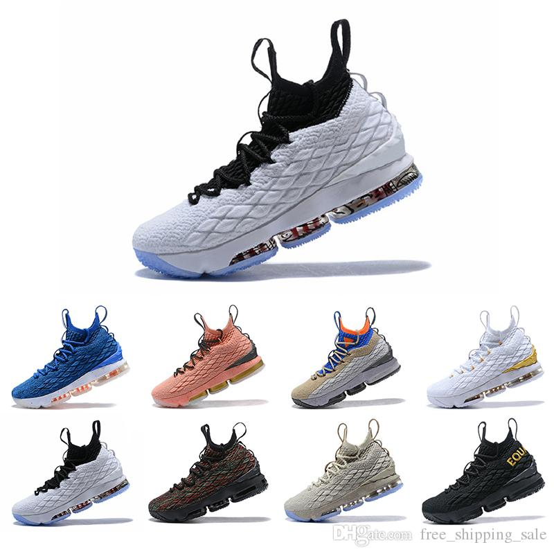 buy online dd562 54225 2019 New Griffey Lebron James 15 Purple Rain Diamond Turf Men Basketball  Shoes Lebrons 15s Equality Mens Casual Trainer Sports Sneakers Orthopedic  ...