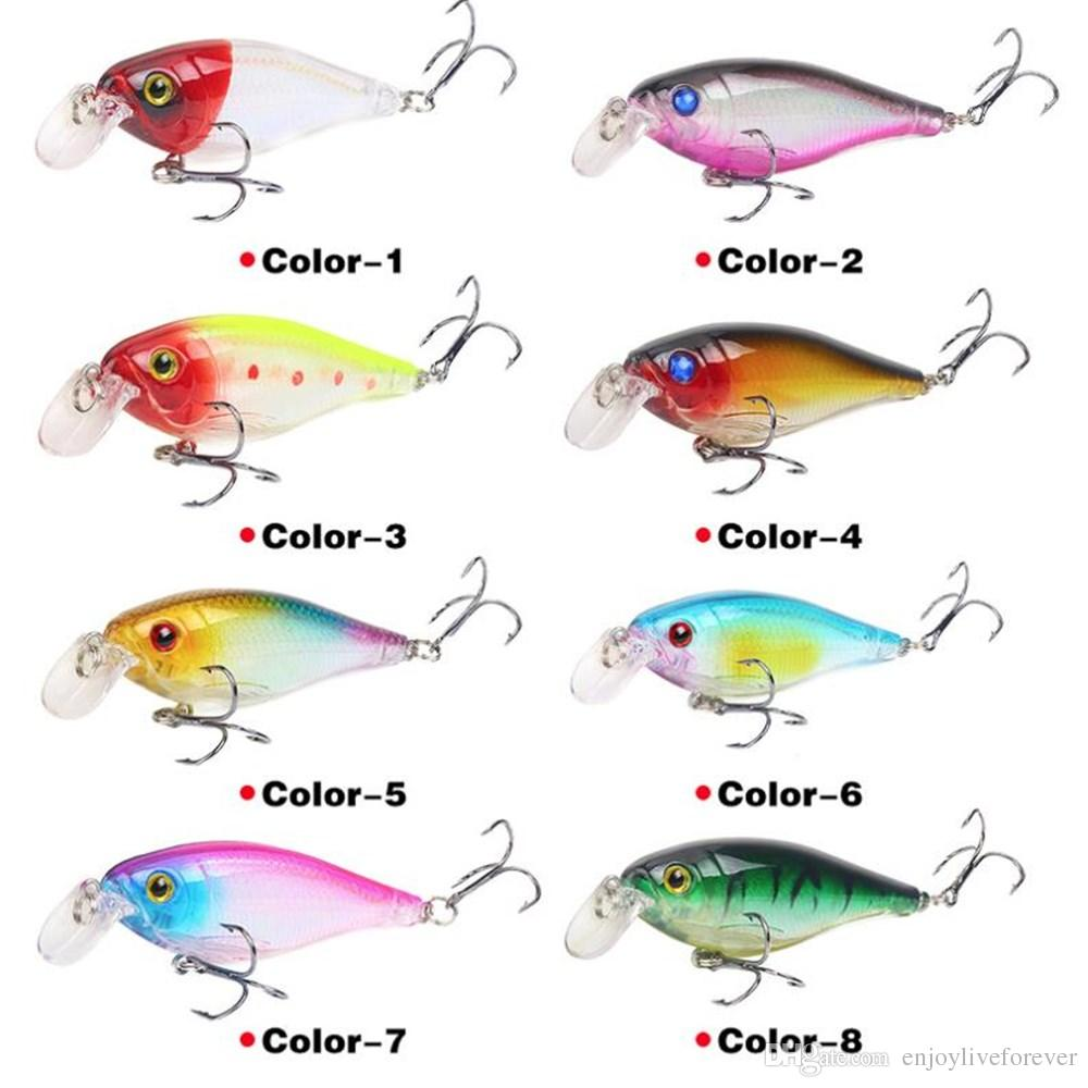 Floating Deep Diving Crankbait Fishing Lures 9cm 12.6g Lifelike Wobblers peche isca Artificial Fishing Tackle