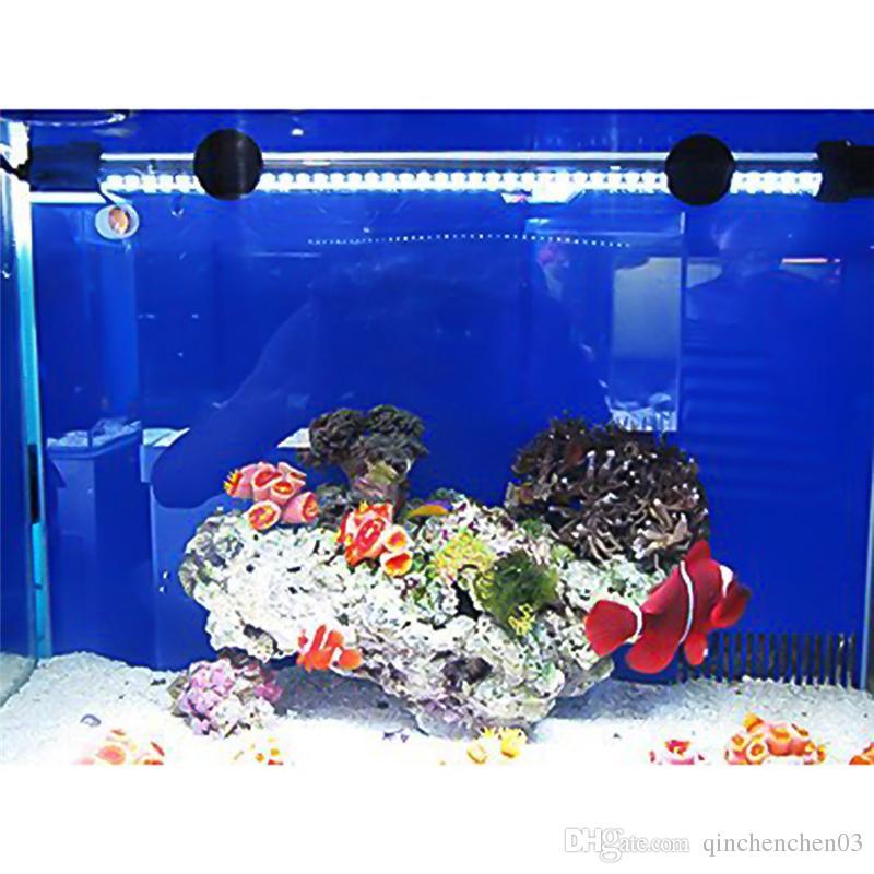 2019 42led 14 96inch Aquarium Led Lighting Submersible Underwater Decor Fish Tank Lights Bar Waterproof Lamp For Aquarium Us Plug From Qinchenchen03