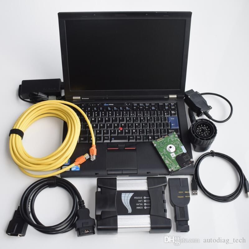 2019.07V ICOM A2 Soft-ware for B-MW ICOM NEXT A B C with hdd installed in t410 laptop 4G use DHL free