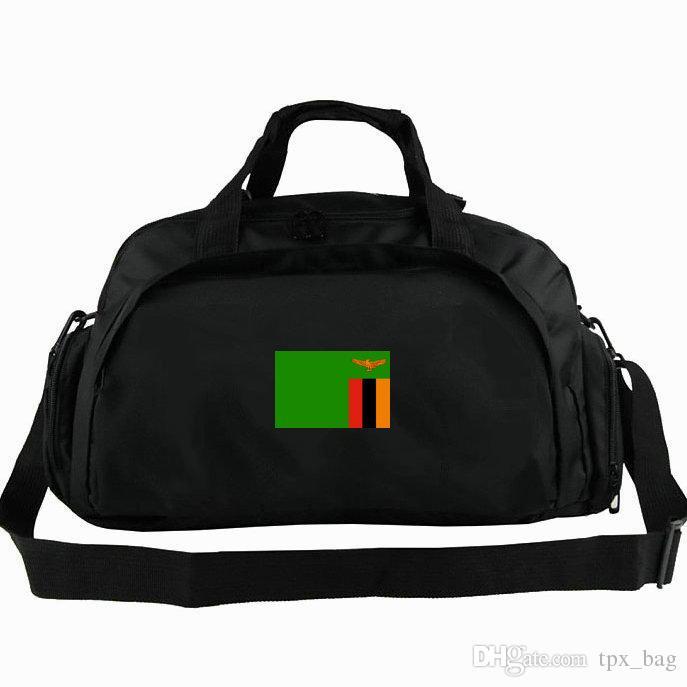 Замбия вещевой мешок Африка горячая Республика флаг тотализатор ZMB 2 способ использования рюкзак Национальный баннер камера поездка плечо вещевой Спорт слинг пакет
