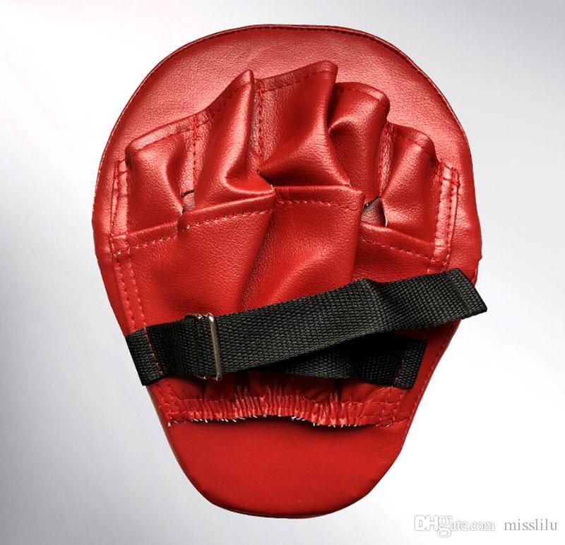 Neue Art und Weise Boxing Mitt Trainingsziel Fokus Schlags Schutz Handschuhe MMA Karate Kampf Thai Kick-PU-Schaum-Material