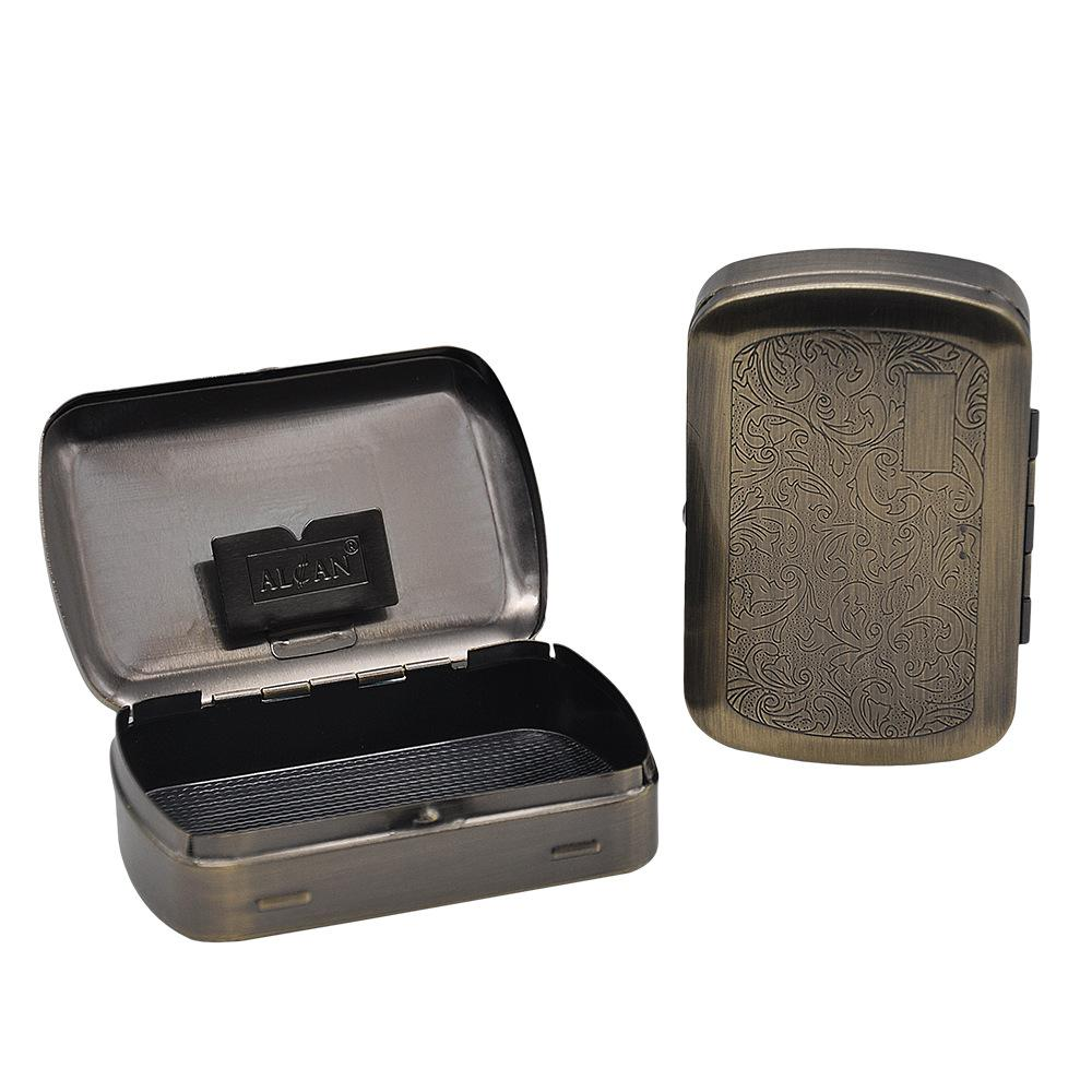 KKDUCK Tinplate Tobacco Storage Box 86MM Mix Colors Cigarette Case Tobacco Holder Pocket Box Rolling Paper Holder