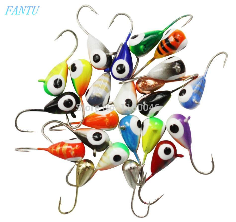 wholesale Winter Fishing Tungsten jigs Hook #14 Ice Fishing jig 0.95g/4.0mm Tungsten fishing Metal Baits 4PCS/lot Small lures