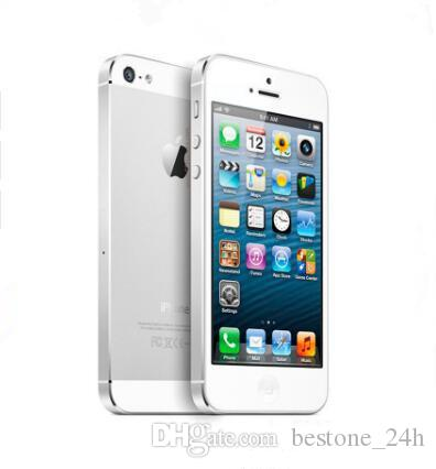 Original Apple iPhone 5 iOS 8.0 Dual core 16GB/32GB/64GB 8MP Refurbished Unlocked Phone