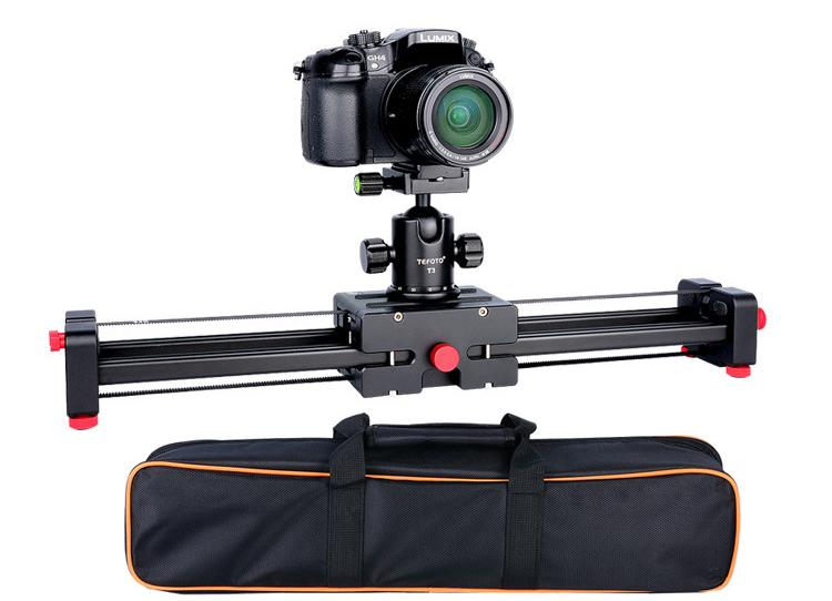 Camera Video Slider Dolly 50cm Track Rail Stabilizer Double Distance 100cm Sliding for Canon Nikon Sony DSLR DV Camera Dolly
