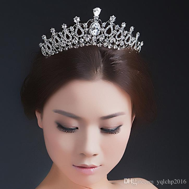 Bridal crown classic water drop modelling wedding headwear wedding accessories
