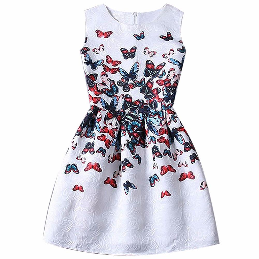 2020 2017 New Normal Girls Sleeveless All Kinds Of Flowewr Pattent