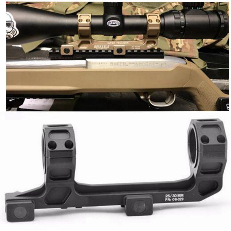 """Охотничий прицел горе Optic 1"""" / 30 мм Диаметр кольца AR15 M4 M16 с NO Bubble Level Fit Уивер Пикатинни"""