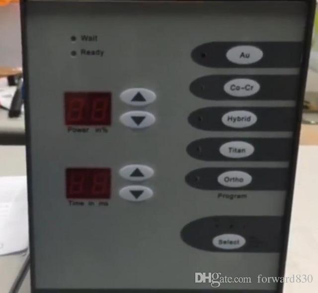 Edelstahl-Spot-Laser-Schweißgerät Schmuck-Schweißgerät Automatische numerische Steuerung Touch-Pulse Argon Arc Welder 220V