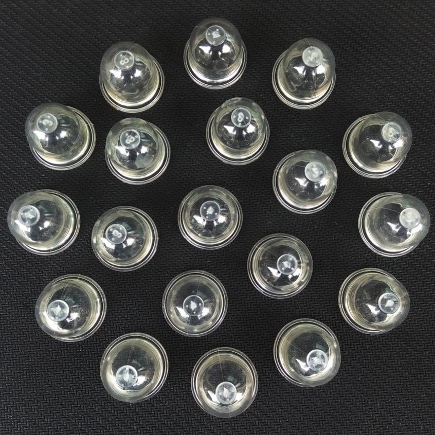 20X Karbüratör Astar Ampüller Yakıt Pompası OEM testereler Körükler Giyotin Homelite Echo Ryobi poulan Zama için # 0057003 0057004