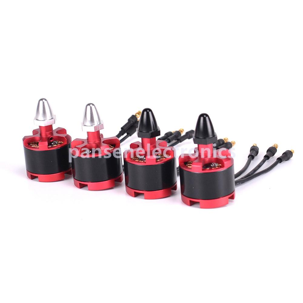 [pansenelectronics] 4 pcs 2212 920KV 2-4S Brushless Motor CW CCW for 9443 9450 Propeller Props For F450 S500 X525 Multirotor Quadcopter