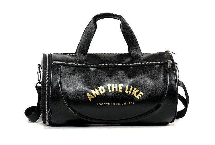 2018 Top PU Спорт на открытом воздухе спортивная сумка Мужчины Женщины с обуви Обучение хранения Фитнес Многофункциональные наплечные сумки дорожные Йога сумочке
