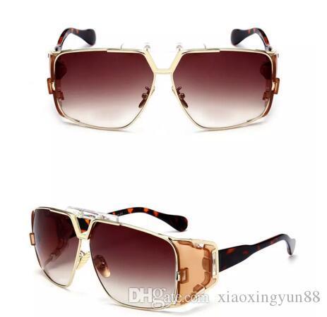 Occhiali da sole uomo 951 Nuovi occhiali da sole Retro Full Frame Occhiali da vista famosi di marca Occhiali da sole di lusso