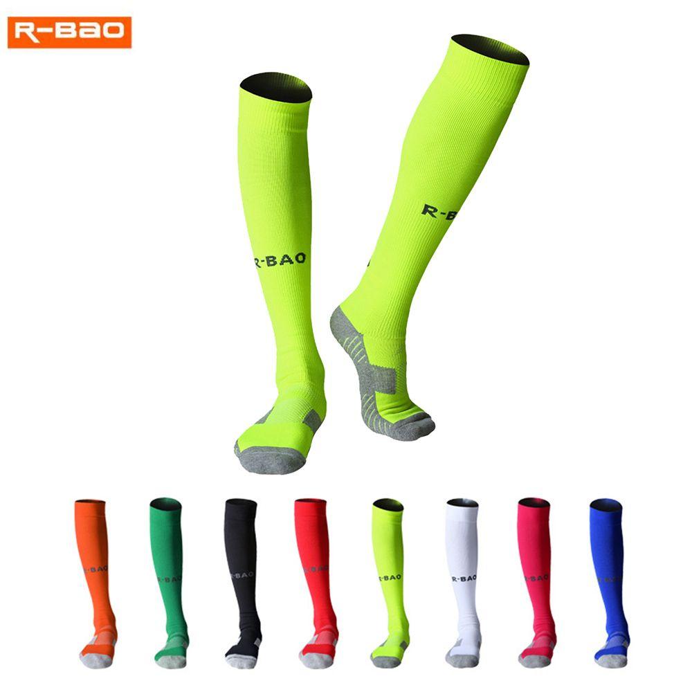 R-BAO Calcetines de fútbol para hombres adultos Calcetines de fútbol Calzado largo de fútbol Calcetines de fútbol para tobillo y pantorrilla Mujeres Espeleología Deportes de algodón Chaussette
