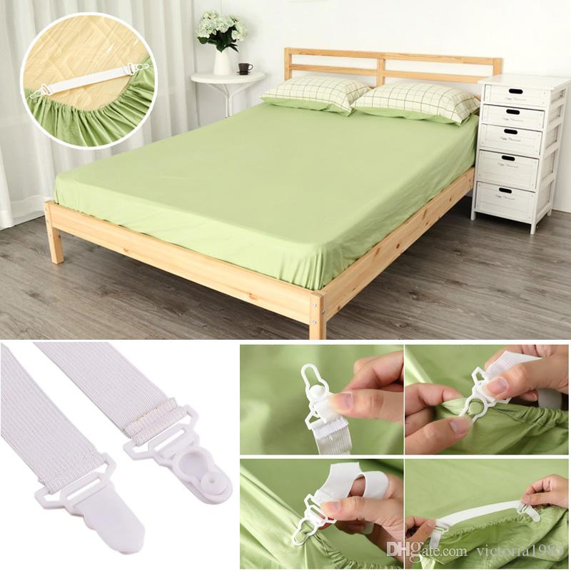 Elastic 12Pcs Mattress Bed Sheet Blankets Holder Fastener Gripper Clip Strap USA
