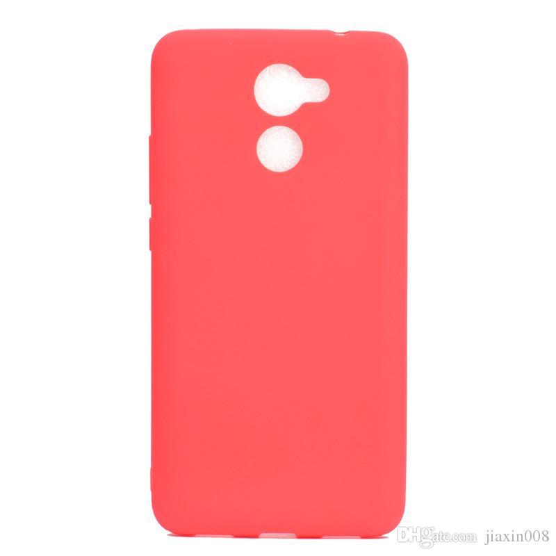 Funda de color caramelo para Huawei Enjoy 7 Plus Cubierta suave TPU Ultathin Designer Mobie Fundas para teléfono Capinha Enjoy 7 Plus