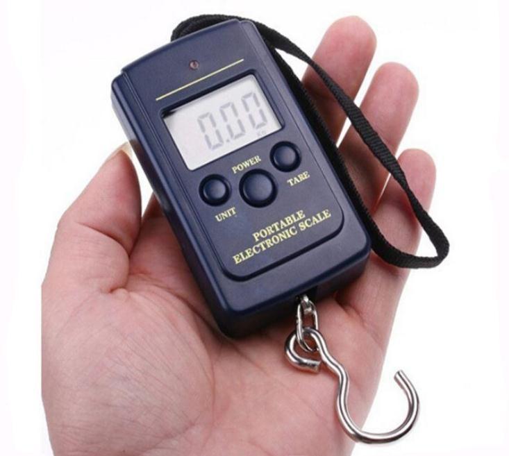 40кг Цифровая Камера Handy весы ЖК-дисплей висит рыбалка 88Lb 1410oz вес масштаба SN280