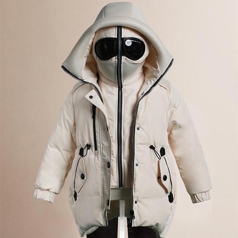 Cappotto invernale da bambina da bambina Cappotto invernale con piumino per bambini Cappotto invernale da pioggia Parka da bambina