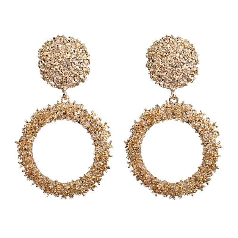 2021 Modern Womens Earrings 2018 Fashion Jewelry Statement Earrings Big  Circular Alloy Spray Paint Plating Vintage Earrings CE419 From Ywcanlyn,  $1.38   DHgate.Com