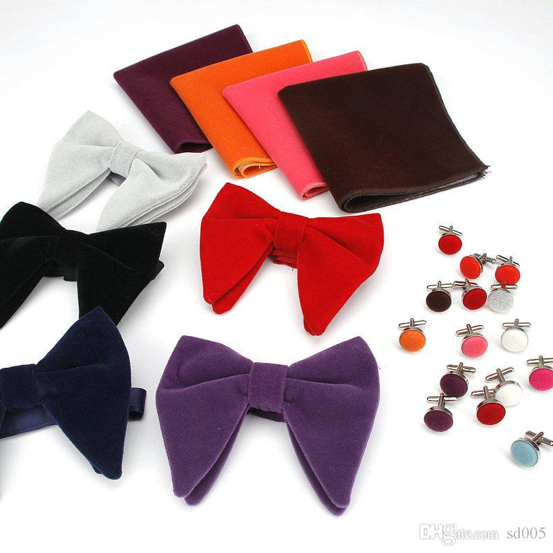 Christmas Bowtie Mens Bow Tie Adjustable Bowties Polyester Bow Ties for Men 3PCS