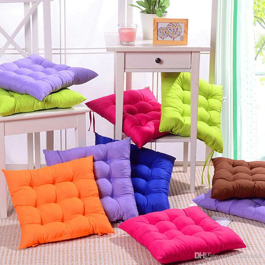 Beautiful Candy Colours Seat Cushion Coussin Dot Cushions Home Decor New Cheap Outdoor Cushions Office Chair Cushion Sofa Pillow