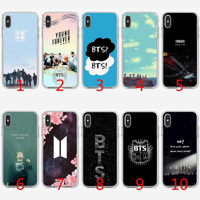super popular 62295 35207 Bangtan Boys Bts Soft Silicone TPU Case For IPhone X XS Max XR 8 7 Plus 6  6s Plus 5 5s SE Cover Cute Phone Cases Cheap Phone Cases From Emmall,  $1.58| ...