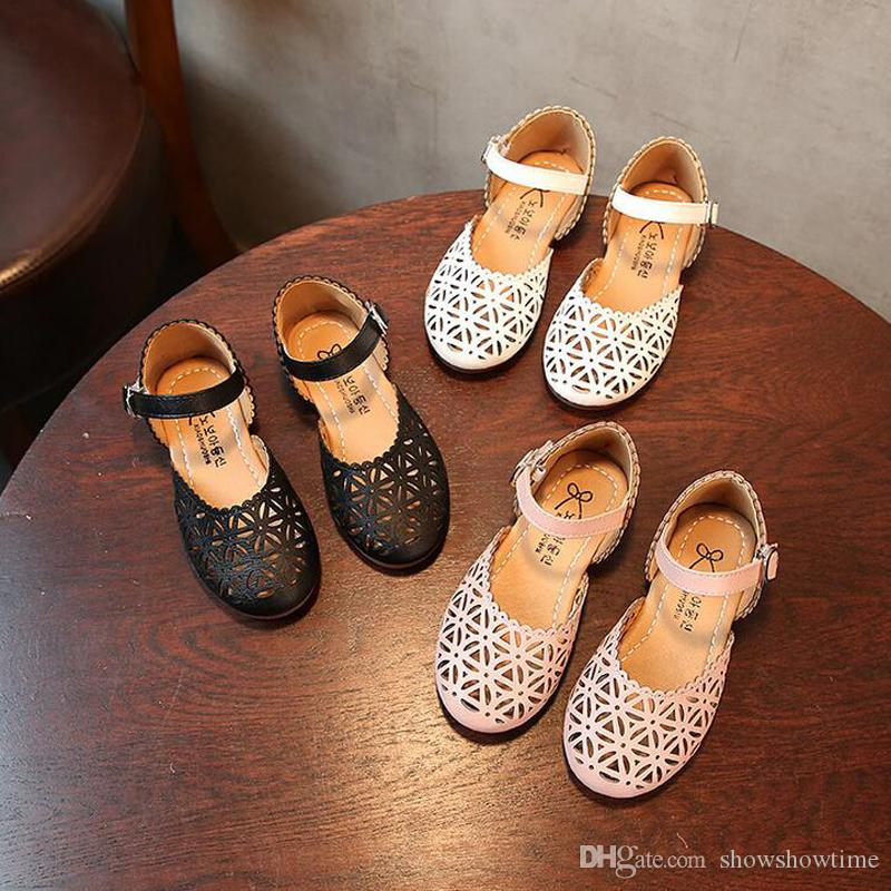 más popular estilo de moda diseño distintivo Compre Zapatos De Niñas Coreano Casual Zapatos De Princesa Niños Calzado  Niño 2019 Sandalias De Primavera Y Verano Zapatos Casuales De Moda Para  Niños ...