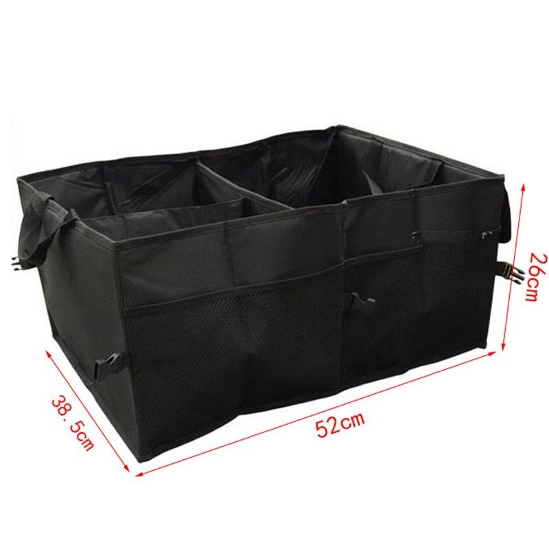 Car trunk Folding bags storage box tool Car Portable Storage Bags Case Black Stowing Tidying Auto Interior Accessories
