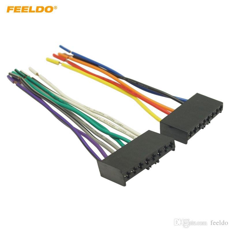 ford car stereo wiring harness 2020 feeldo car cd dvd audio stereo wiring harness adapter plug  2020 feeldo car cd dvd audio stereo