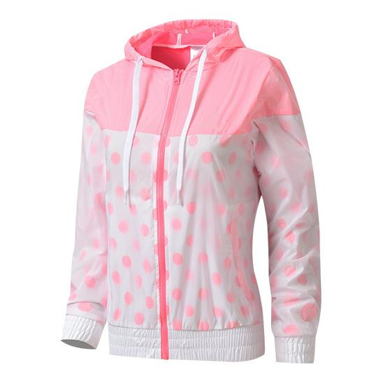 Großhandel Damen Jacken Neue Art Und Weise Hoodies Rosa Grau Blau Patchwork Druck Qualitäts Frühlings Herbst Zipper Sport Von Chaerlite1, $38.7 Auf
