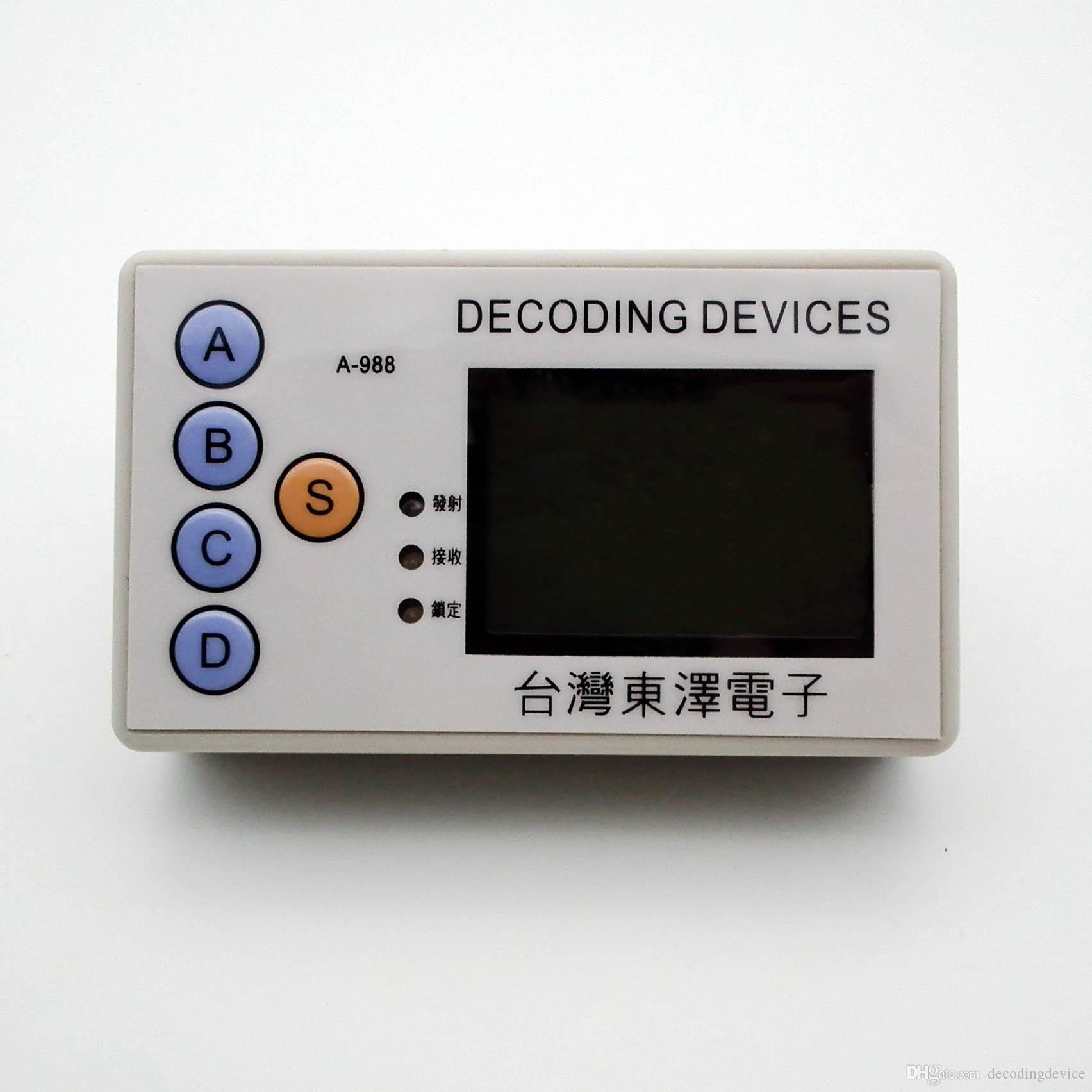 код граббер 315MHZ 330MHZ 430MHZ 433MHZ автомобиль дистанционный клон пульт дистанционного управления удаленный сканер слесарь инструмент разблокировки устройства