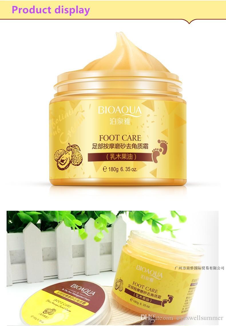 BIOAQUA Spa Massaggi Scrub piedi crema idratante Peeling Whitening calzini bellezza liscia mani Cura dei piedi per pedicure esfoliante