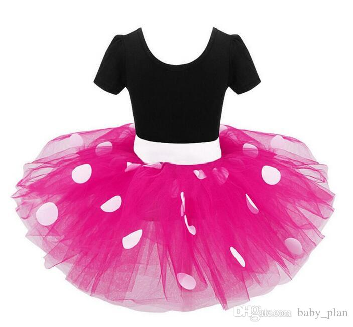 Girls Kids Tutu Party Dance Ballet Toddler Baby Costume Dress+Headband Suit