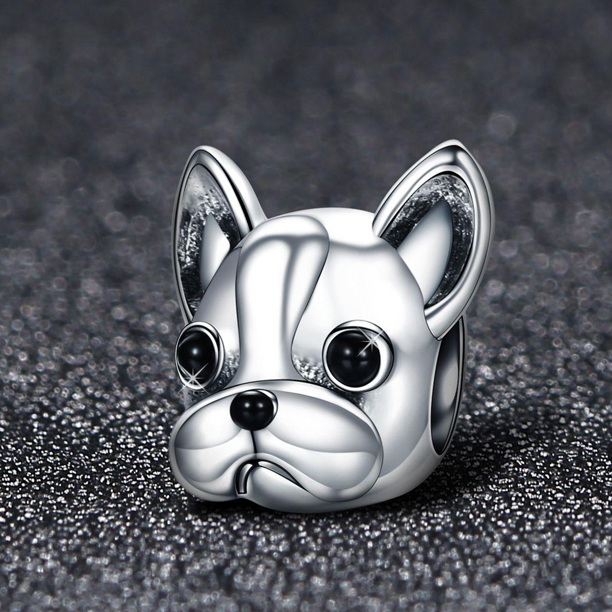 charm pandora bulldog francese