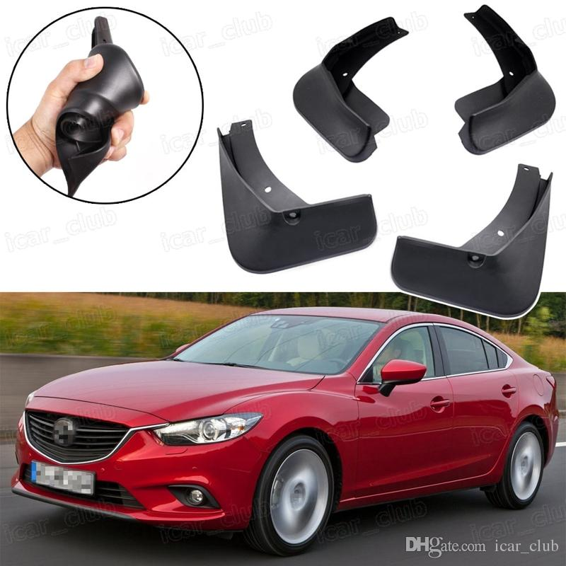 Lama do carro Flaps Respingo Fender Guarda lamas apto para Mazda 6 Sedan 2013-2017 14 15 16