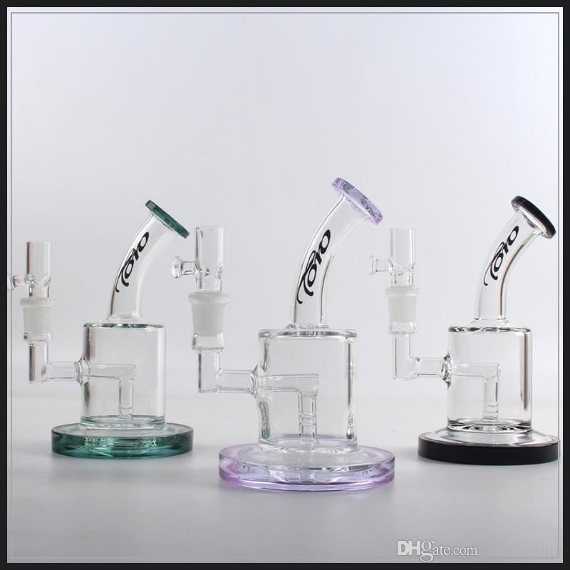 мини Торо стекло бонг нефтяная вышка вода бонги цвета женский 14,5 мм барботер со стеклянной чашей