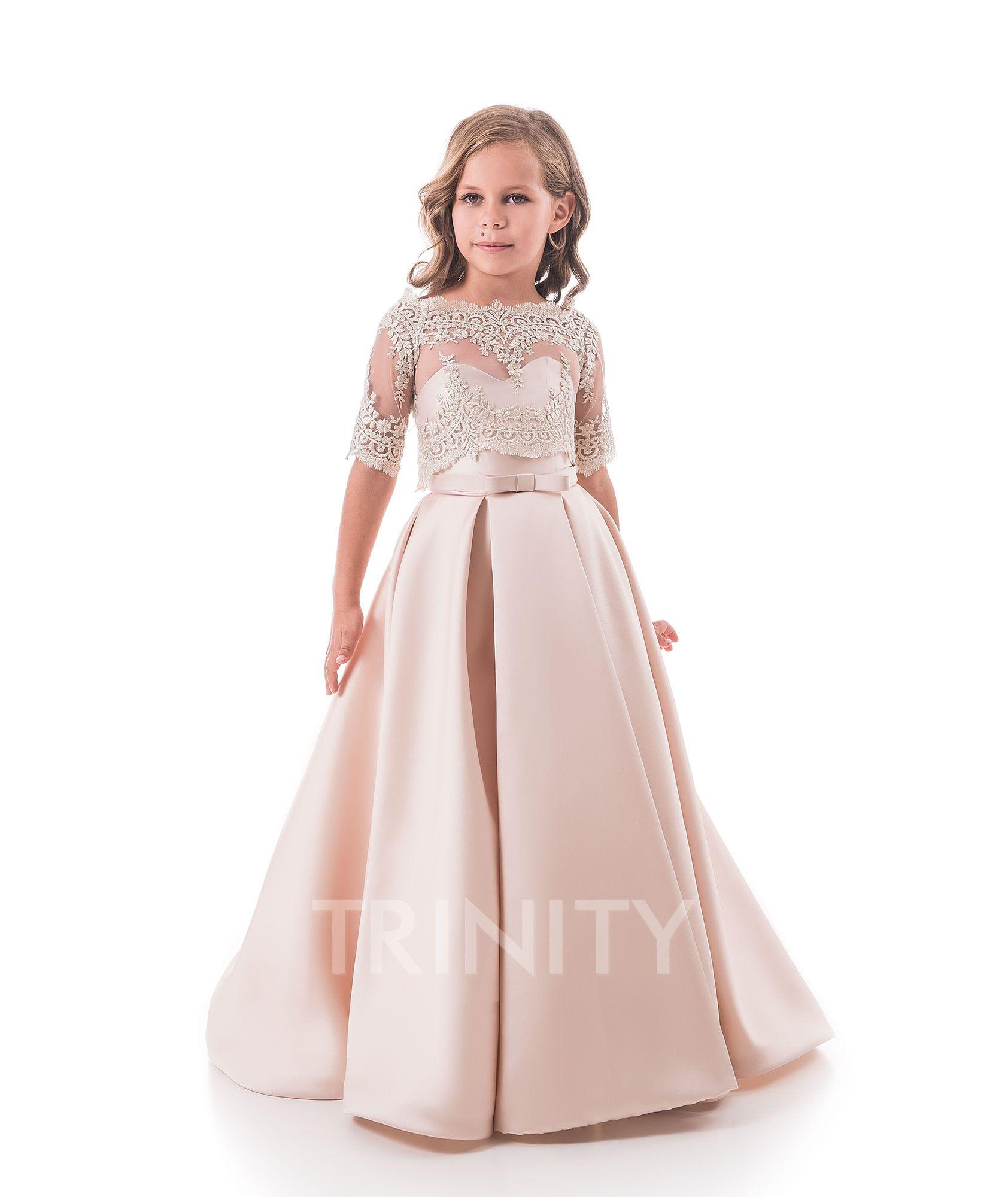 Sequin Flower Girl Dress 2-14 Birthday Pageant Holiday Graduation Bridesmaid USA