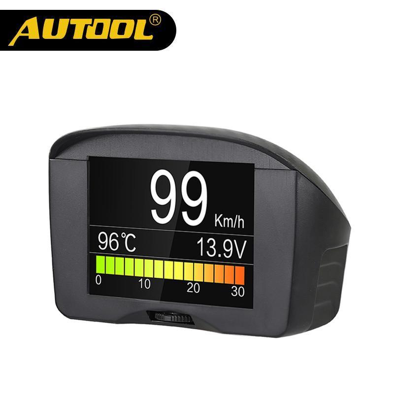 Commercio all'ingrosso X50 Plus Multi-Function Car OBD Smart Digital Meter Allarme temperatura dell'acqua Gauge Display digitale Tester di velocità
