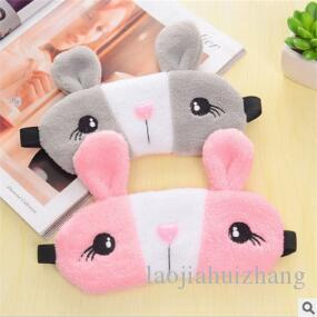 Cartoon Rabbit Plush Ventilate Sleep Masks Multi Ice Bag Shading Sleeping Eyeshade Vision Care Health & Beauty Free-shipping SM025