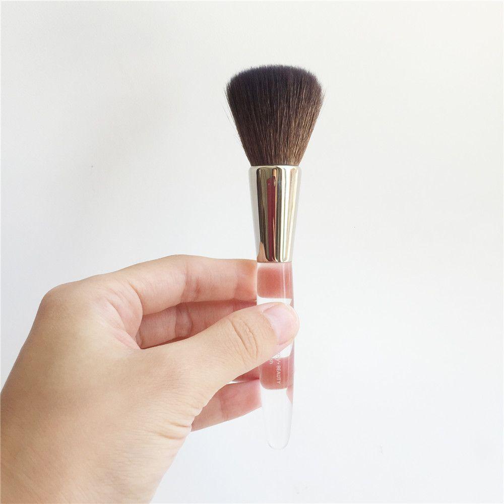 فرشاة بودرة / أحمر الخدود TME-SERIES - فرشاة شعر الماعز الناعمة من Bronzers Blusher Brush - أداة فرشاة ماكياج الجمال