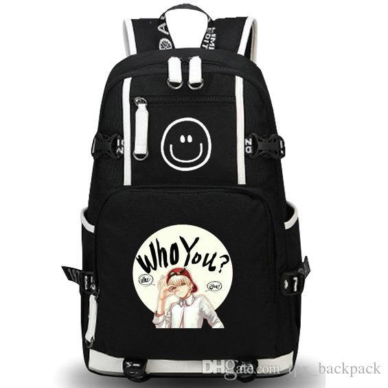 من أنت حقيبة ظهر ، حزمة يوم بارد ، G Dragon حقيبة مدرسية ، packsack ، جودة ، حقيبة رياضية ، حقيبة مدرسية ، daypack ،