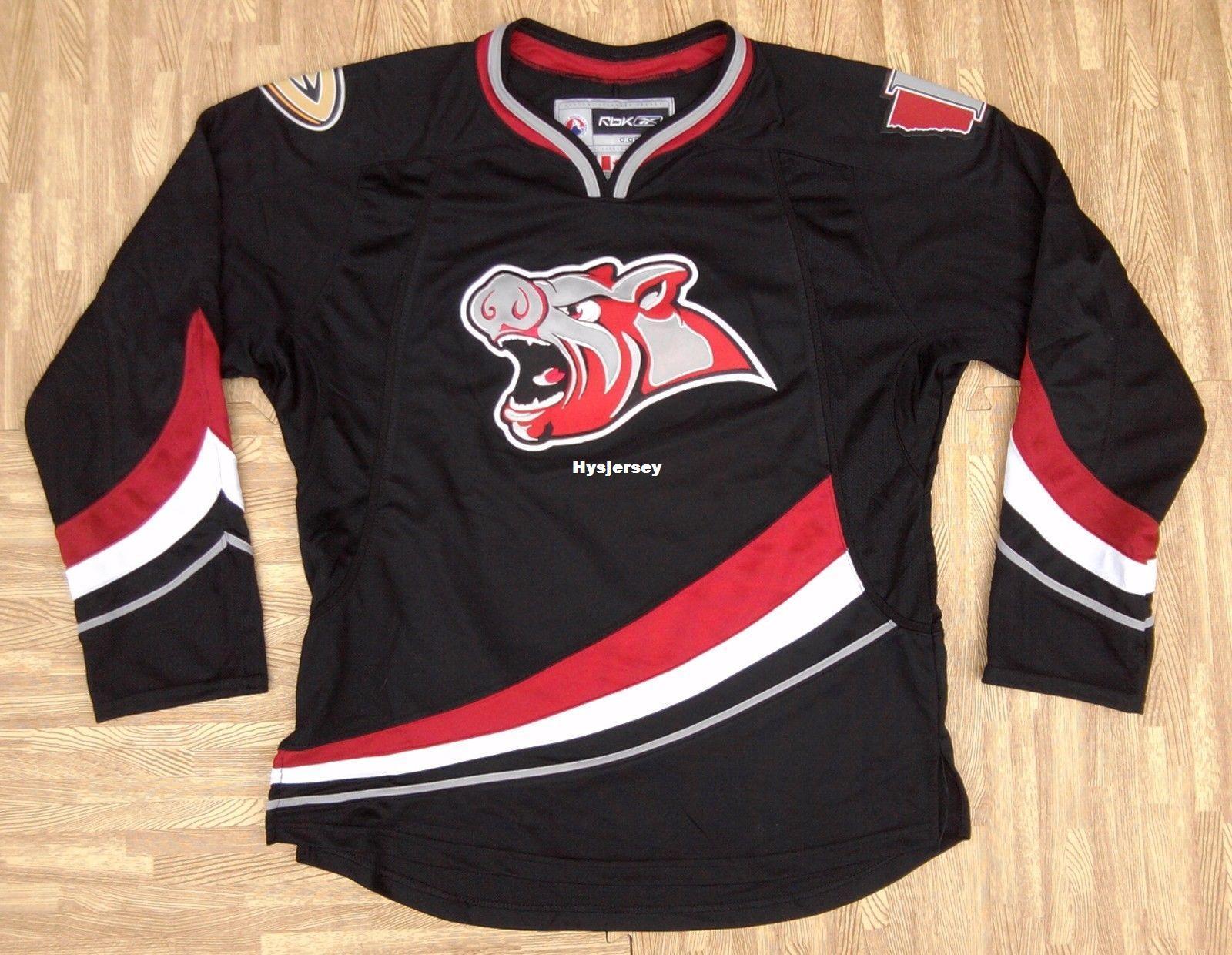 2021 New Cheap Custom Iowa Chops AHL Jerseys Mens Medium ...