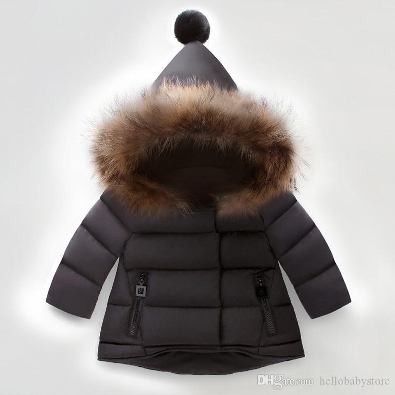 Çocuklar Coats Erkekler ve Kızlar Palto Çocuk Kapüşonlular Bebeğin Ceketler Çocuk Dış Giyim çocuklar 3 renk 1-6T bebek Sıcak satılır.