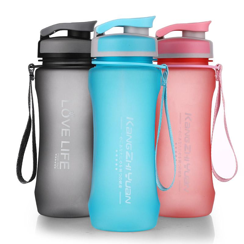 Plastic Sport Water Bottle Bpa Free Tritan Material Water Bottle With Rope Eco -Friendly Climbing Tumbler