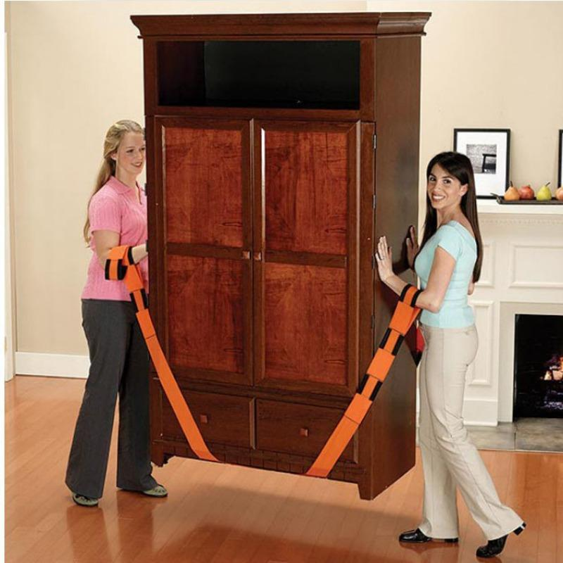 2.72 M Shoulder Forearm Lift Heavy Furniture Moving Straps Useful Lifting Cords Transport Belt Appliances Carry Rope