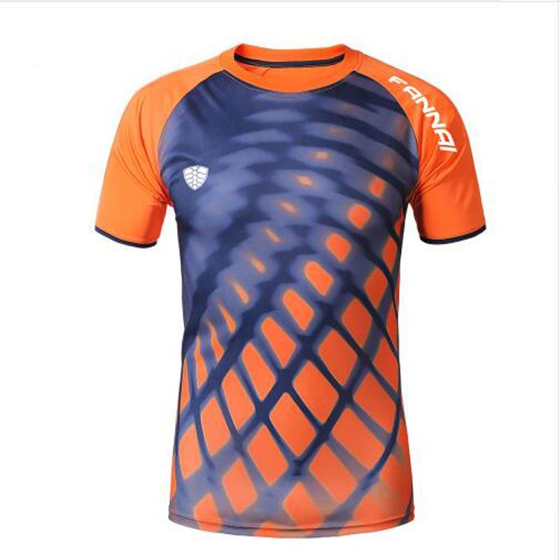 4056fa74 2017 New Design Men sport T Shirt Brand Summer Quick Dry camisa masculina  Slim Fit 3D Leopard Print T-shirt Homme